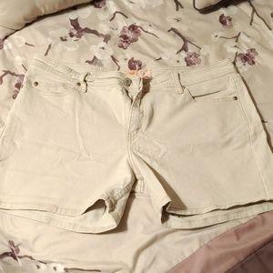 Levis shorts size 16